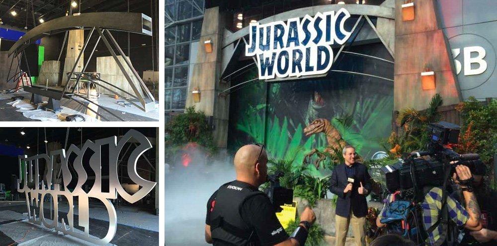 Marketing Genome replicates Jurassic World movie moment with park exhibit