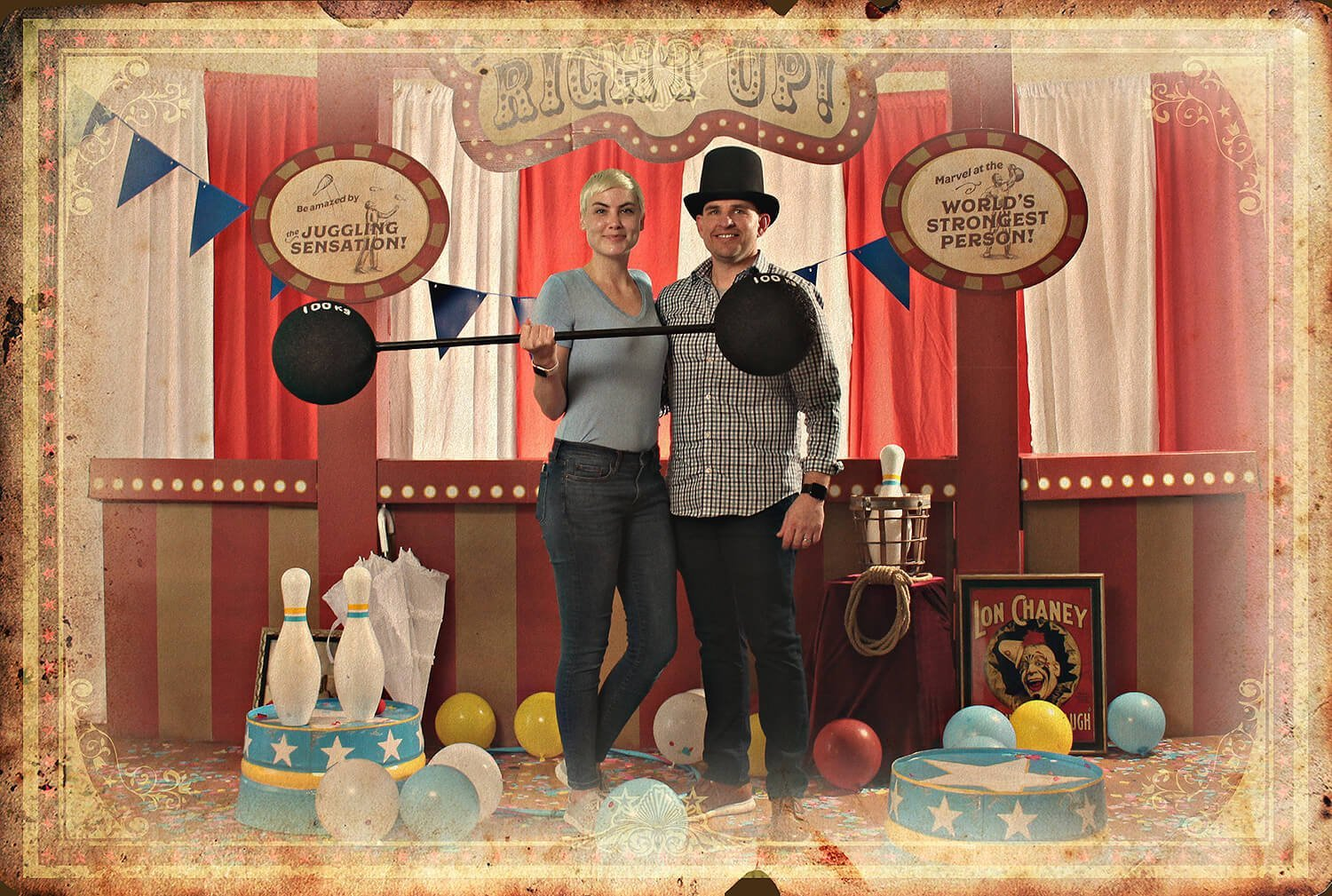 circus photo booth example image