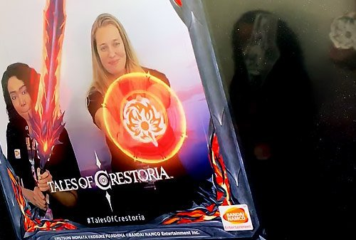 augmented reality photo booth for Tales of Crestoria